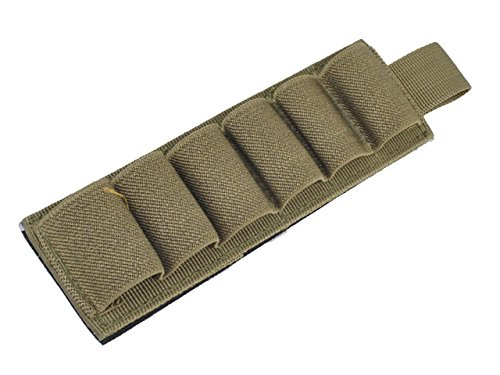 Táctica 6 shot-g carcasa calibre 12 Portador Magic pasta Holder Pouch Airsoft...