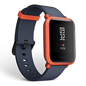 Amazifit Bip A1608 – Smartwatch, Color Rojo (Cinnabar Red)