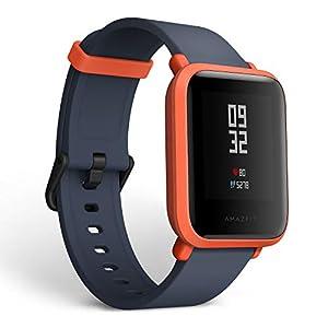 Amazifit Bip A1608 – Smartwatch, Color Rojo (Cinnabar Red)