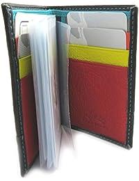 Francinel [L9464] - Porte-cartes 'Troubadour' noir multicolore