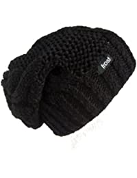 Frost Hats M-80ND Winter Hat for Women Slouchy Beanie Hat Knitted Winter Hat Frost Hats