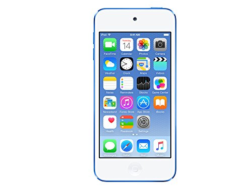 Apple MKH22FD/A iPod Touch 16GB Speicher blau