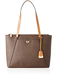 08a0e936f4b5 Michael Kors Womens Jet Set Item Tote Brown (Brn/Acorn)