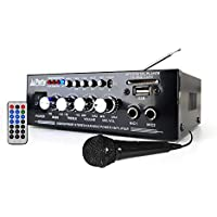 Verstärker Karaoke 50 W – USB/BLUETOOTH/SD/FM + Fernbedienung + Mikrofon