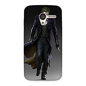 Gorgeous Insane Knife Multicolor Back Case Cover for Moto X