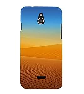 PrintVisa Sand Design 3D Hard Polycarbonate Designer Back Case Cover for Infocus M2