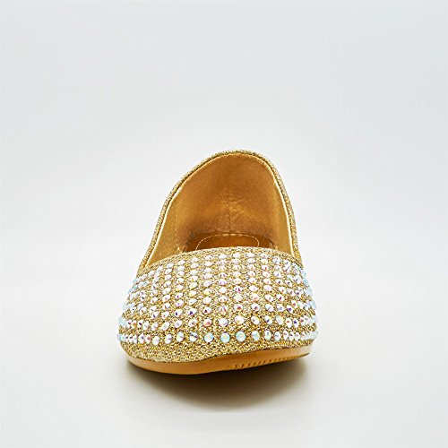 London Footwear - Ballet donna Oro