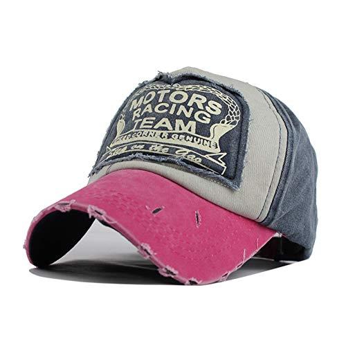 wollkappe Baseballmütze Sommerkappe Hip Hop ausgestattet Cap Hüte für Männer Frauen Schleifen Multicolor,EIN ()