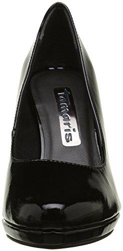 Tamaris 22448, Scarpe con Tacco Donna Nero (BLACK PATENT 018)