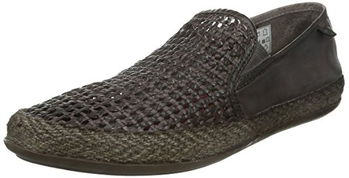 Base London Stage Weave Herren-Leder-Schuhe Brown