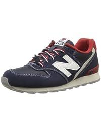 New Balance Wr996 D 14E - Zapatillas de cuero para mujer