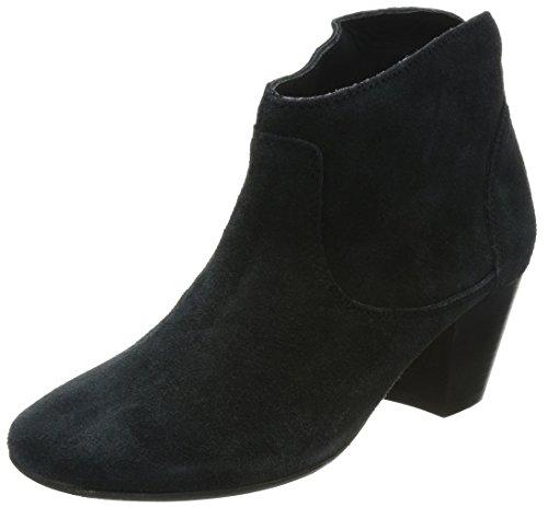 Hudson London Damen Kiver Kurzschaft Stiefel, Schwarz (Black), 36 EU -