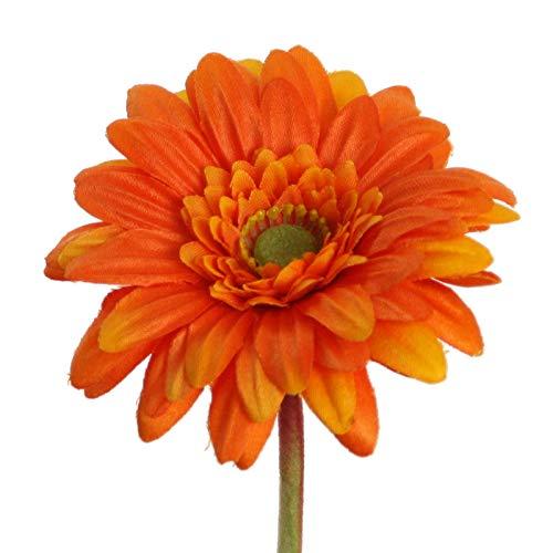 ini 47 cm. Seidenblume, Blume, Blumen. ORANGE 41005 06 ()