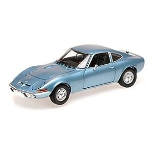 Minichamps - 180049030 - Véhicule Miniature - Modèle À L'échelle - Opel Gt 1900 - 1972 - Echelle 1/ 18