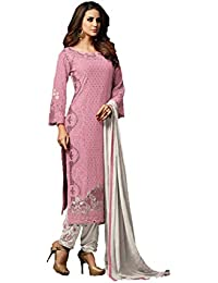 8bdbd1318e RJ FASHION women georgette embroidered sharara salwar suits(semi stitched)
