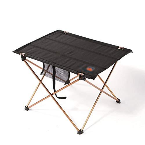HJBH Klapptisch-Aluminium Klapptisch Oxford Tisch tragbaren Couchtisch Picknick im Freien Barbecue Table-56x42x37CM -