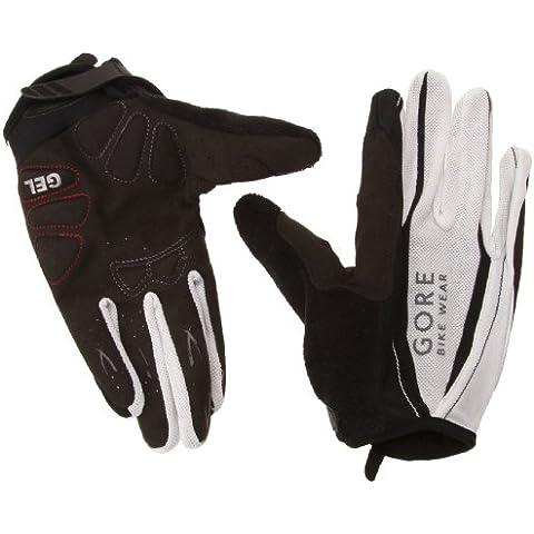 Gore Bike Wear Glpowe Power Guanti Lunghi, Unisex adulto, Nero (Black/White), 8 - Mens Sport Bike