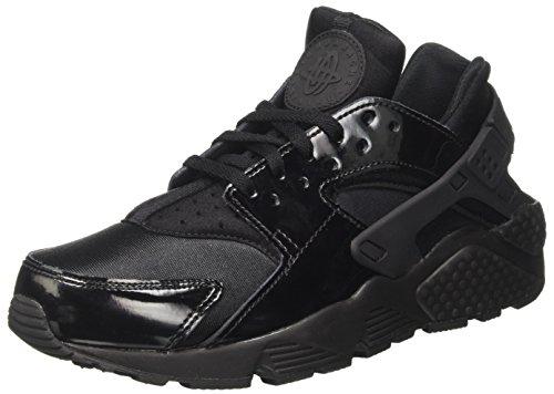Nike Damen Wmns Air Huarache Run Sneaker, Schwarz (Black/Black/Black 026), 40 EU (Wmns Air)