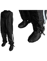 Hock 12564 - Pantalón impermeable, color negro, talla DE: Talla L (hasta 185 mm de altura)