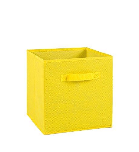 Alsapan 94706 Compo 16 Aufbewahrungsbox, Schubkasten-Design, Polypropylen, 27x27x28cm, Gelb