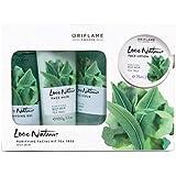 Oriflame Sweden Ayurvedic Tea Tree Nature Facial Kit (Green)