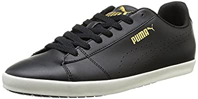 Puma Unisex Civilian SL Black Boat Shoes - 10 UK