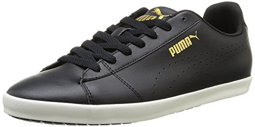Puma Unisex Civilian SL Black Boat Shoes – 11 UK 4171NZAO6YL