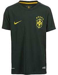 Nike Niños Brasil 3rd Stadium WM 2014 Camiseta 98c770b8a8310
