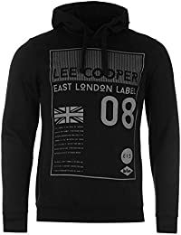 Pull Sweat à Capuche Homme LEE COOPER (Taille Petit)