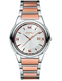 Roamer Swiss Elegance Men's Quartz Watch with Silver Dial Analogue Display and Silver Stainless Steel Bracelet 507980 49 15 90