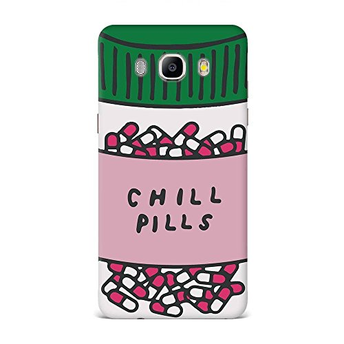 Samsung J7 2016 Case, Samsung J7 2016 Hard Protective SLIM Printed Cover [Shock Resistant Hard Back Cover Case] for Samsung J7 2016 -Take A Chill Pill  available at amazon for Rs.375