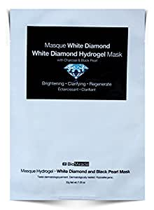 BioMiracle - White Diamond and Black Pearl Hydrogel Mask