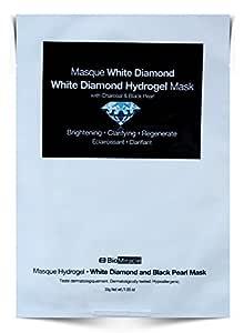 BioMiracle - White Diamond and Black Pearl Hydrogel Mask