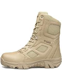 Hommes Delta Armée Bottes Hautes Tactiques Assaut Chaussures Forces  Spéciales Police Militaire Chaussure En Plein Air Désert Assaut… 811e46e6f074