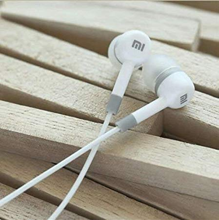 Amazing_Deal Mi Super Bass Quality Wired Earphones with Mic (White)