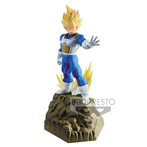 Banpresto. Dragon Ball Z Figure Vegeta SSJ Absolute Perfection Figure INMEDIATAMENTE Disponible