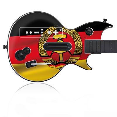 Speed Link Wii Defender Wireless Guitar Design Skin Folie Aufkleber - DDR (Ddr Spiele Wii)