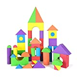 GKPLY Schaumstoff-Blöcke gesetzt, Kinder Spielzeug Bausteine Eva sicher und ungiftig Puzzle Spielzeug Spielzeug Geschenk,M