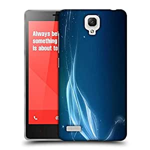 Snoogg Abstract Sparkling Design Designer Protective Phone Back Case Cover For Xiaomi Redmi Note