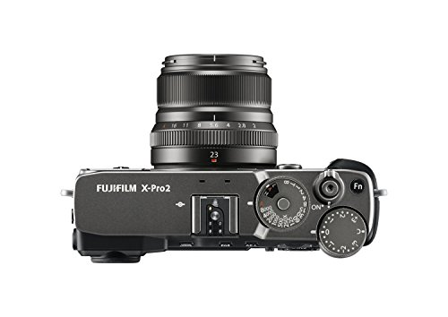 Fujifilm X Pro2 Digital Camera by means of  XF23 mm F2 R WR Lens Graphite sleek and sophisticated System Cameras