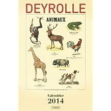 Deyrolle Calendrier 2014