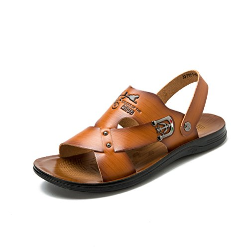 Sandales Pour Hommes Chaussures De Plage Chaussures échassiers En Plein Air Yellow