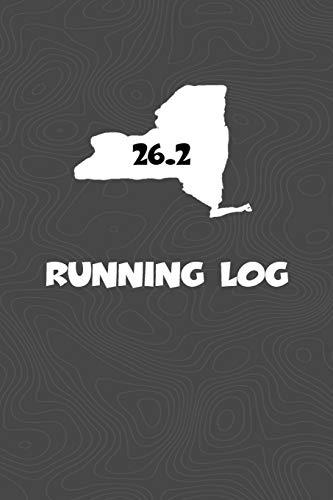 Running Log: Blank Lined Journal for anyone that loves New York, running, marathons! por KwG Creates
