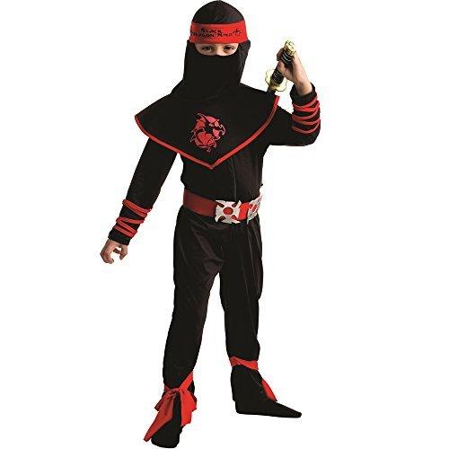 Kinder Kostüm Drache Ninja - Dress Up America Kinder Ninja Krieger Kostüm