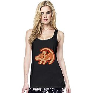 Simba The Lion King Logo Womens Continental Tunic Vest Large
