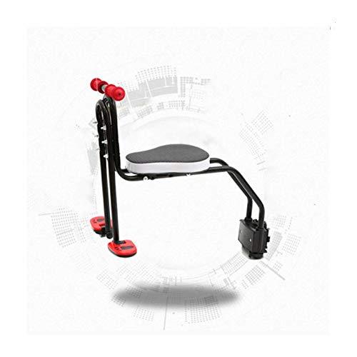 CHENG Radfahren Kindersitze Fahrrad Kindersitz Sicherheit Vorne Mountainbike Einstellbarer Kindersitz,Black,44 * 5 * 14cm