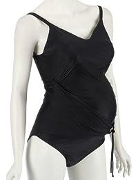 Noppies Women's Swimsuit,  Black (Black Print ), UK 8 (Manufacturer size: 34/36)