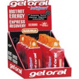 Infisport S.L. - Gel Oral recuperante individual 24 sobres limon