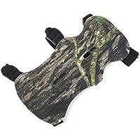 LoveOlvidoE Cómodo Arcón Camo Archery Arco Brazo Protector Antebrazo Safe Gear 3 Correas Armguard Bow Herramienta de Protección