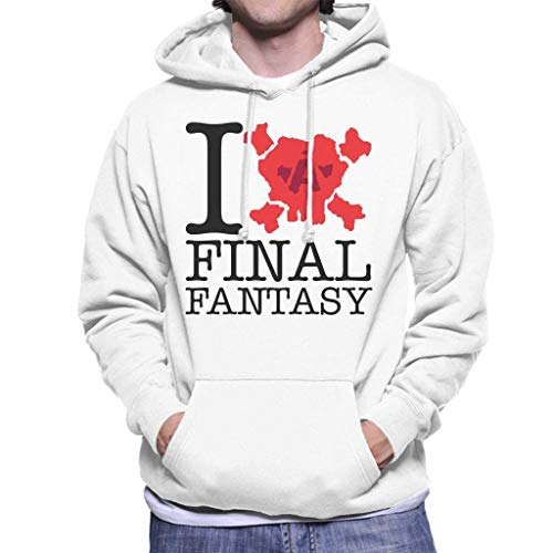 Saft Retro Maske - CVDFVFGB I Love Final Fantasy Men's